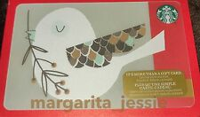 "STARBUCKS CANADA 42 SERIES HOLIDAY 2016 GIFT CARD ""LITTLE BIRDS GIFT"" NO VALUE"