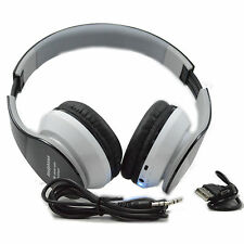 AUX Card MP3 Stereo Bluetooth Headphones For Cell Phone Laptop Tablet PC iPOD LG