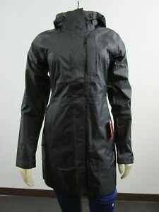 Womens The North Face TNF Venture Waterproof Dryvent Hooded Jacket Parka Black