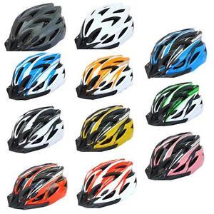 Women Men Outdoor Helmet Adjustable Bicycle MTB Bike Biker Cycling Safety NEW