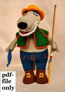 PATTERN: Wilson the Wolf Pup - Crochet wolf pattern - amigurumi ... | 300x214