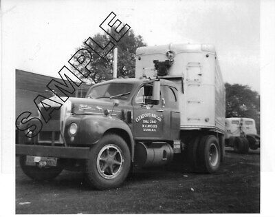 ca.1947 GMC /'CANONBALL/' Style Diesel Sleeper NAVAJO FREIGHT LINES 8x10 B/&W Photo