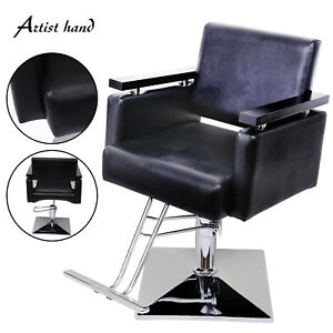 Hydraulic Lifting Chair 100% Guarantee Put Down Hair Salons Haircut Chair Hairdressing Chair Barber Chair