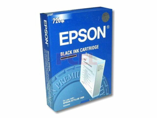 original Epson S020062 Tintenpatrone schwarz