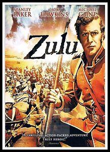 Zulu 3 British Movie Posters Classic Vintage Films Ebay