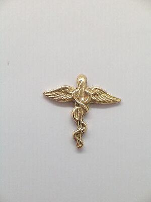 pins Spilla da giacca Fiamma Arma dei Carabinieri in ORO BIANCO 750-18 Kt