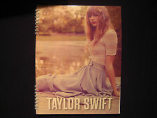"""Taylor Swift Official Spiral Notebook - 8-1/2"""" x 11"""" - Sitting with Lace Top"""