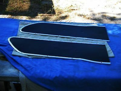 FORD F100 REPLACEMENT PAIR DOOR PANELS 1966 & OTHERS AVAILABLE IN  COLORS
