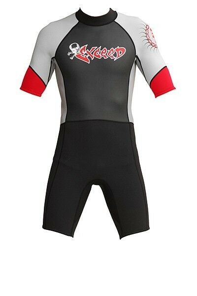 Shorty Wetsuit Men 3 2 mm Wet body Neoprene Surfing scuba diving Various Sizes