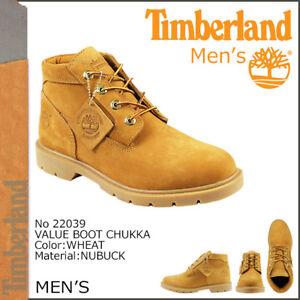 Timberland Men's Classic Waterproof Wheat Chukka Boots 22039