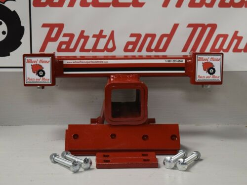 Toro Wheel Horse Removable Receiver Hitch with mounting hardware