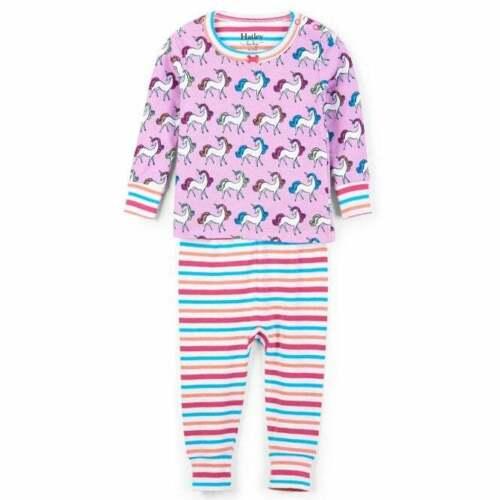Hatley Baby Organic Cotton Pyjamas Rainbow Unicorns