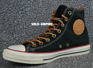Details about Converse CTAS HI 151142C Chuck Taylor Black Biscuit Peached Wheat Red NEW