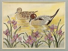 "Something Special ""Pintail Ducks Picture"" Embellished Counted Cross Stitch Kit"