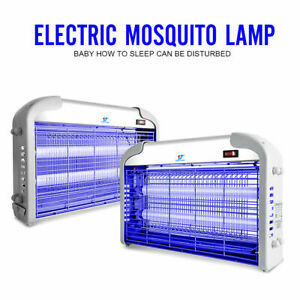 110v 20w Uv Light Electronic Mosquito Killer Flying Bugs Insect