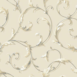 Acanthus-Scroll-Wallpaper-by-York-AB1962-per-Double-Roll