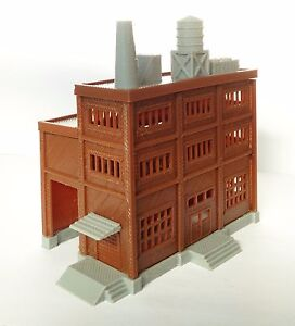 Outland-Models-Railroad-Building-Large-Factory-with-Covered-Loading-Dock-N-Scale