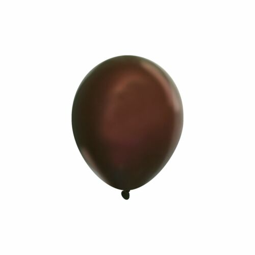 "50 X 12/"" Quality Plain Dark Brown Balloons Party Birthday Celebration Decor"