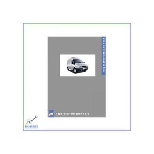2.3L DOHC 16V Motor Ford Transit 00-06 Werkstatthandbuch