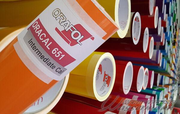 Plotterfolie für Schneideplotter ORACAL 651 5x5m x31cm
