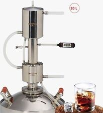 12L Wine Alcohol Stainless Distiller Moonshine MAGARYCH EXPORT reflux additional