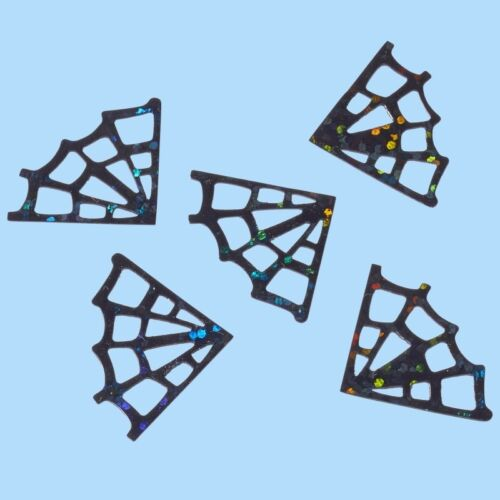 Streuteile tela de araña pailettenstreu dekostreu mesa fiel tela de araña negro