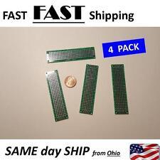 solder type blank bread board - blank circuit board - green double sided BBG