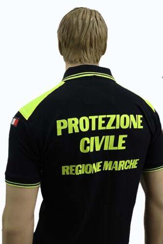 polo maglia protezione civile