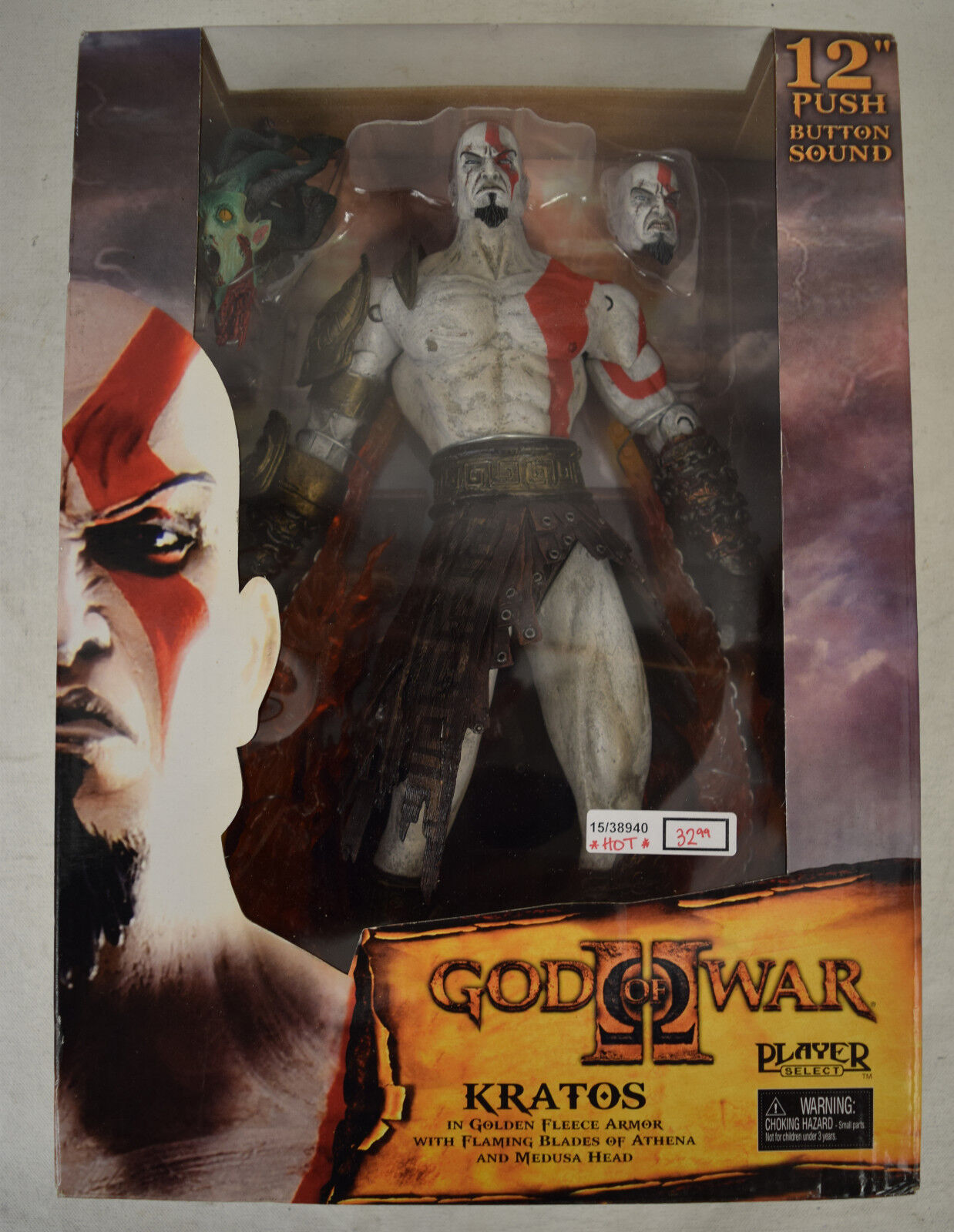 God Of War War War II Kratos 12  Action Figure NECA Playstation 2 New 35fada