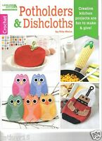 Potholders & Dishcloths Crochet Book Release Crochet Book