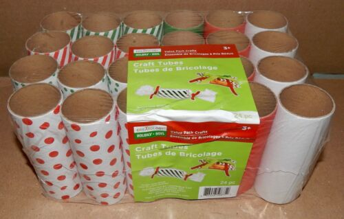 """Craft Tubes Christmas Creatology Value Pack Crafts 24pc 4 1//2/""""x1 5//8/"""" Round 174C"""