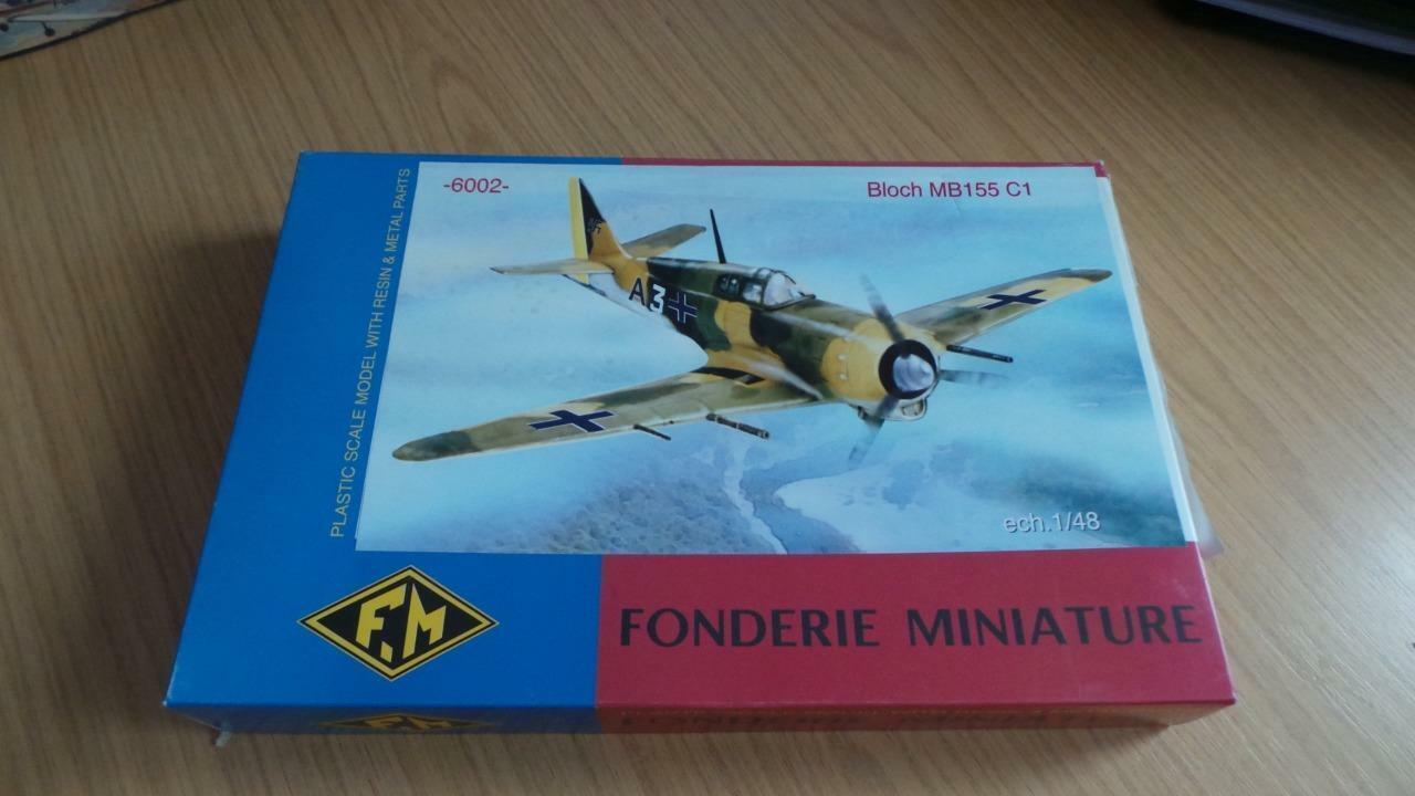 JB110  Fonderie Miniature 1 48 Bloch MB155 C1 No 6002 Plastic Model Kit