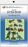 Quilled Creations Paper Quilling Kit Just For Little Boys Vehicles 413