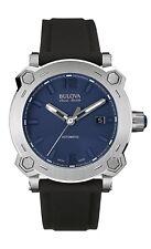 Bulova Accu-Swiss 63B190 Percheron Men's Swiss Made Automatic Watch $1295 NEW