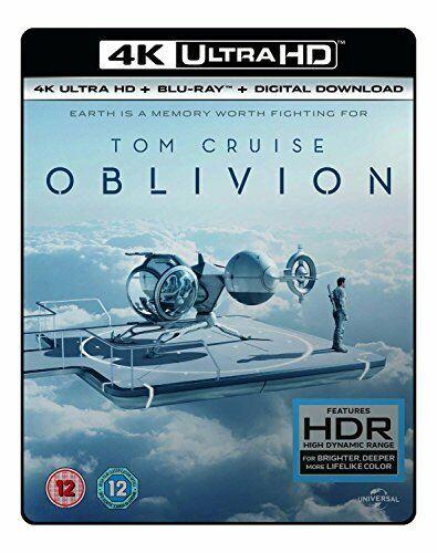 OBLIVION - (4K UHD + BD + UV) RT VERSION [Blu-ray] [2017] [DVD][Region 2]