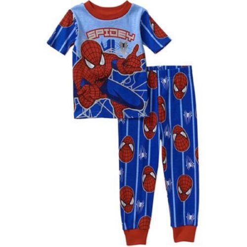 Marvel Amazing Spiderman Toddler Boy Short Sleeve Pajamas