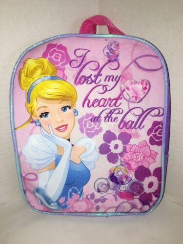 "Disney Princess Cinderella Mini Toddler 8/"" x 10/"" Preschool Backpack NWT"