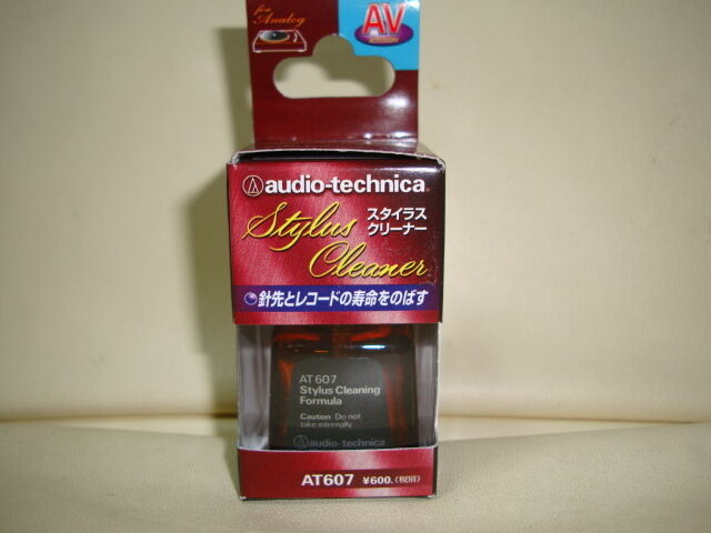 MADE IN JAPAN NEW AUDIO-TECHNICA AT607 Excellent Stylus Cleaner GENUINE