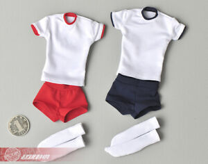 Student Sportswear Clothes 1//6 Scale Fit 12in Female Phicen TBLeague Figure Body