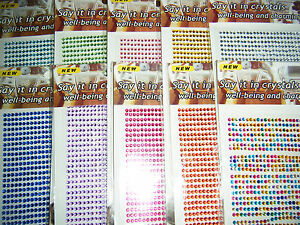 750-Craft-Gems-3mm-sticky-backed-cards-scrapbook-decoration-iphone-ipad