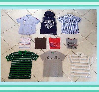 Affidabile Lotto 11-abbigliamento Bambino 6 Anni Estate 10 Pezzi