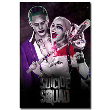 """Suicide Squad Superheroes Movie Silk Poster 13x20 24x36/"""" 089 Harley Quinn"""