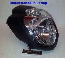 Yamaha MT-03 Style Streetfighter Custom Motorcycle Headlight MOT ready E-marked