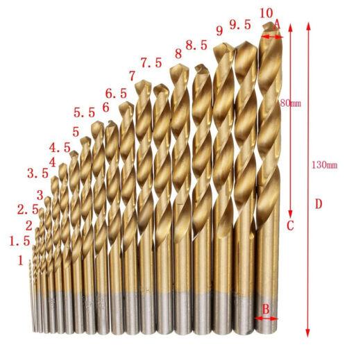99Pcs Cobalt Drill Bits Set for Stainless Steel Metal Hss-co Cobalt Bit 1.5-10mm