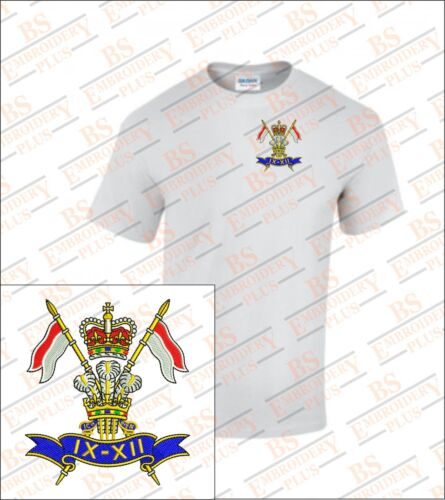 9th//12th LANCERS EMBROIDERED T-SHIRT