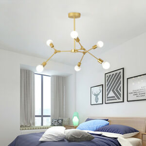 Large Chandelier Lighting Gold Pendant Light Modern Ceiling Lights Kitchen Lamp 6931361808841 Ebay