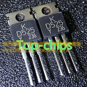 10pcs-2SD525-D525-TO-220-new