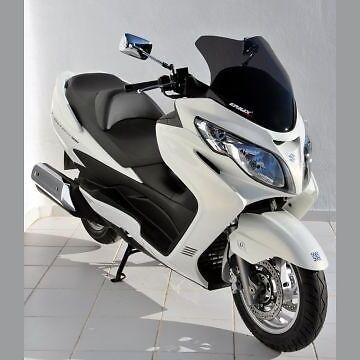 Pare Brise Bulle Sport ERMAX Suzuki Burgman 250//400 2002-06 Noir Clair 030403070