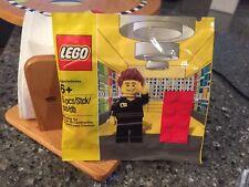 LEGO Retail Store Employee 5001622 EXCLUSIVE POLYBAG MINIFIGURE SET New