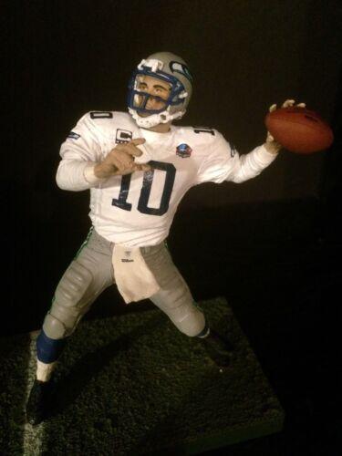 "Jim Zorn Seattle Seahawks Jersey Custom 6/"" Mcfarlane Figure"